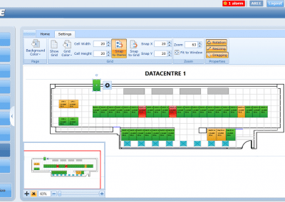 AREE Datacenter Dynamic Map